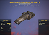 Vanguard's [WWR] Scout Right Arm #13